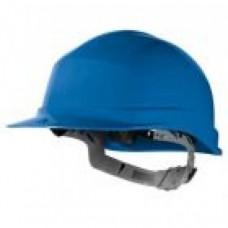 Safety Helmet, Blue, Strap Type