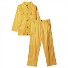 Pant & Shirt 100% cotton 190 GSM Yellow
